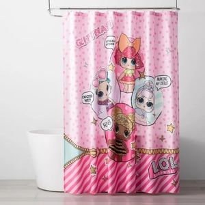 Lol Surprise Fabric Glitterati Shower Curtain